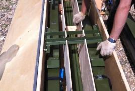 Упаковка антенного оборудования