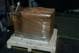Упаковка пресса на заводе LG Electronics RUS