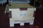 Деревянный ящик для пресс-формы