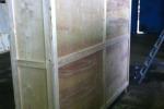 Фанерный ящик для автобусного лобового стекла